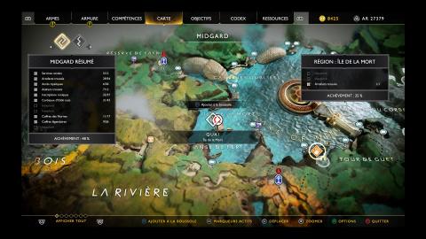 """Carte au trésor """"La Clef du Capitaine"""" - Chutes de pierre"""