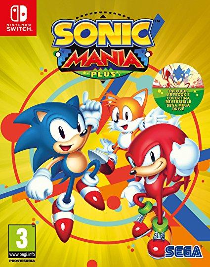 Sonic Mania Plus sur Switch
