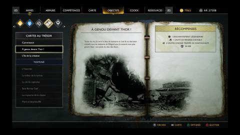 """Cartes au trésor """" A genou devan Thor"""" - Mines de Landsudr"""
