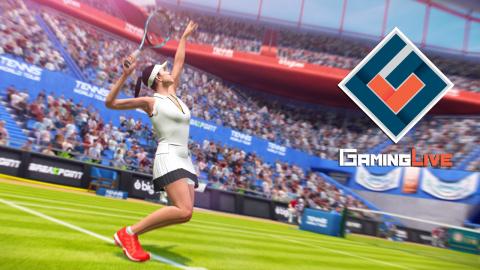 Tennis World Tour : Premiers pas en mode carrière et extraits d'un match