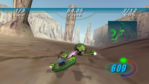 Star Wars Episode I : Racer se trouve une nouvelle date de sortie sur PS4 et Switch