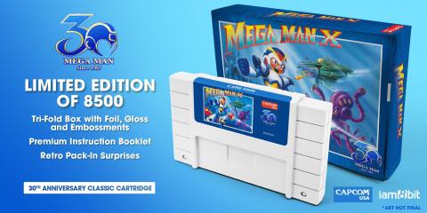 Mega Man : des cartouches collector NES et SNES pour les 30 ans de la licence