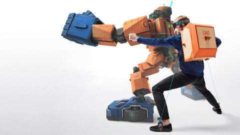 Toy-Con 02 : le Nintendo Labo qui donne vie à un robot sur Switch