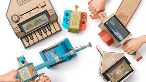Nintendo Labo Toy-Con 01 : La boîte secrète de Nintendo aux cinq accessoires sur Switch