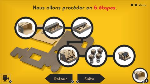 Nintendo Labo Toy-Con 01 : La boîte secrète de Nintendo aux cinq accessoires