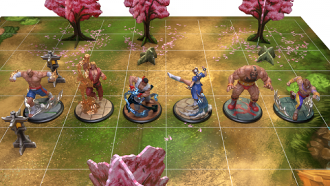 Street Fighter : The Miniatures Game récolte plus de 2 millions sur Kickstarter