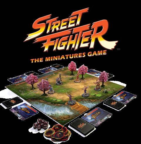 Street Fighter : The Miniatures Game récolte plus de 2 millions sur Kickstarter