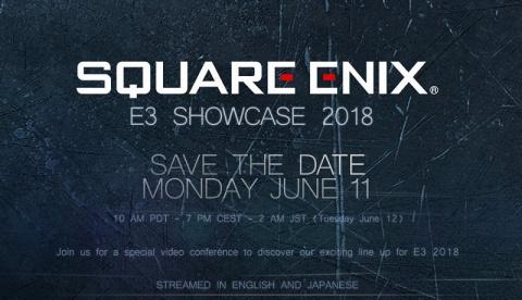 E3 2018 : Square Enix organisera une conférence vidéo