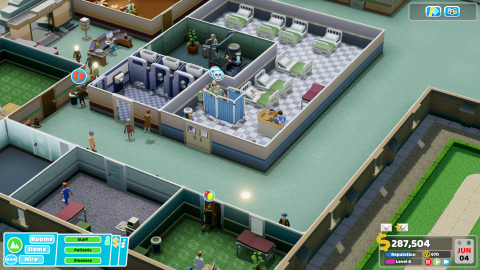 Two Point Hospital : comme un doux parfum de nostalgie