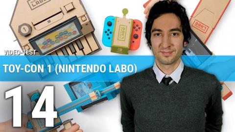 Toy-Con 01 (Nintendo Labo) : Notre avis après avoir construit, joué et découvert