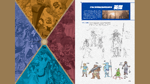 Une édition anglaise pour le livre Breath of the Wild-Creating a Champion