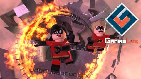 LEGO Les Indestructibles : De la coopération sur deux niveaux
