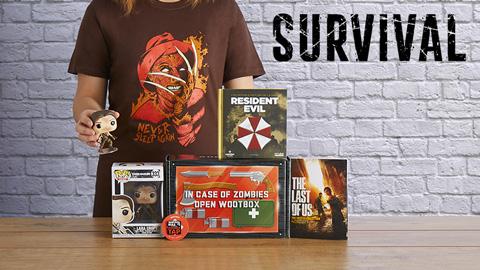 Unboxing vidéo de la Wootbox Survival de Mai