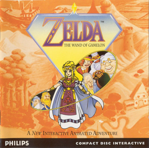 Zelda : The Wand of Gamelon sur CDI