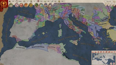 Paradox présente Imperator : Rome, son nouveau jeu de stratégie