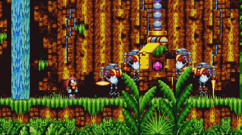 Sonic Mania Plus : Mighty et Ray se montrent en images