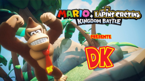 Mario + The Lapins Crétins Kingdom Battle : Donkey Kong Adventure sur Switch