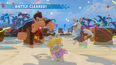 Mario + Lapins Crétins, DLC Donkey Kong : De la stratégie et du puzzle