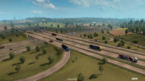 Euro Truck Simulator 2 : L'Allemagne va s'offir une refonte graphique