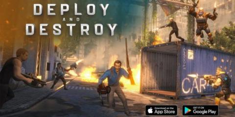 Deploy and Destroy : Ash vs ED sur iOS
