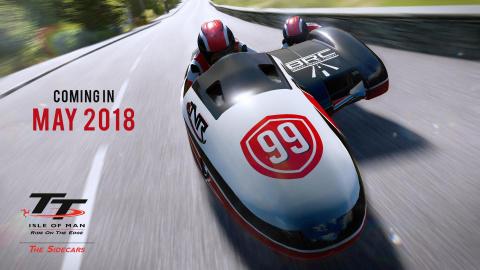 TT Isle of Man : La rigueur et la précision pour introduire Sidecar Thrill
