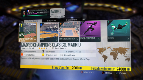 Tennis World Tour : Une simulation qui pêche sur son gameplay et sa finition