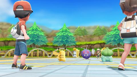 Pokémon Let's Go Pikachu et Evoli annoncés sur Switch en vidéo