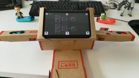 [MàJ Labo Secret] Nintendo Labo Toy-Con 01 : La boîte secrète de Nintendo aux cinq accessoires