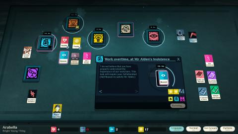Cultist Simulator : 100 000 copies vendues pour le jeu de cartes narratif