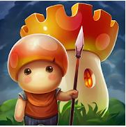 Mushroom Wars 2 sur Android