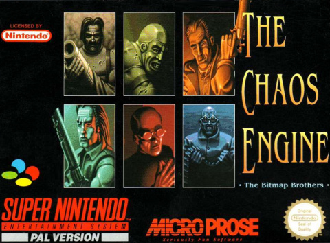 The Chaos Engine sur SNES