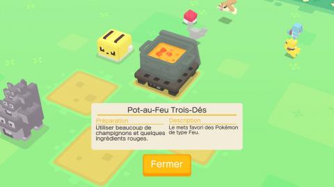 Pokémon Quest, guide cuisine : toutes les recettes pour constituer la meilleure équipe