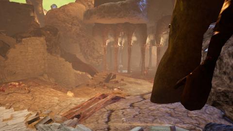 Le désert de lumière
