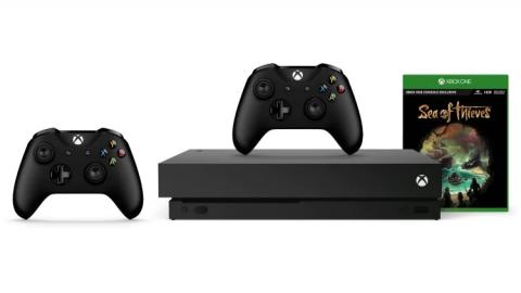 Microsoft Store : La Xbox One X en promo éclair avec Sea of Thieves !