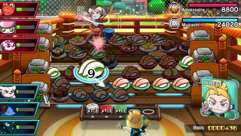 Sushi Striker, le jeu de réflexion/action qui rend le sushi sexy