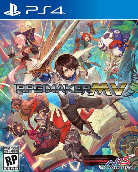RPG Maker MV aperçu sur Switch et PS4 via Amazon