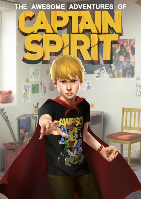 Les Aventures Extraordinaires de Captain Spirit sur ONE