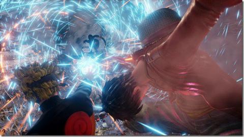 Jump Force : Luffy, Goku et Naruto affrontent Sasuke, Zoro et Freezer pendant trois minutes - E3 2018