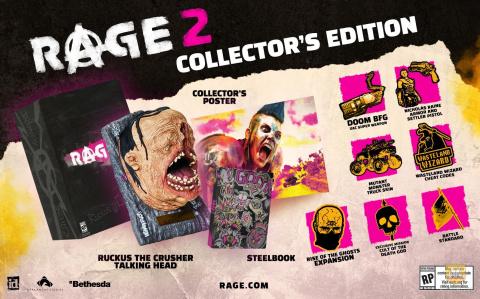 RAGE 2 : Les éditions Collector et Deluxe ont été annonçées