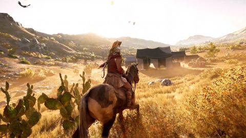 Assassin's Creed Odyssey : une nouvelle monture offerte pour le premier anniversaire du jeu
