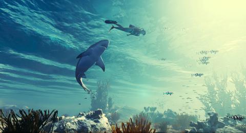 E3 2018 : Maneater montre ses crocs