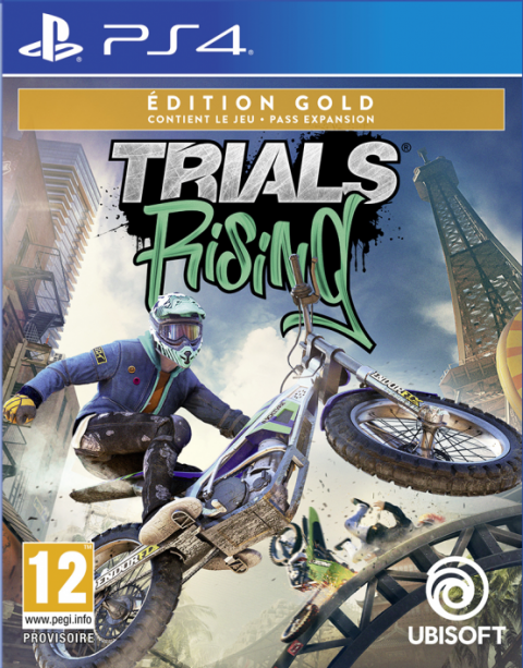 Trials Rising sur PS4