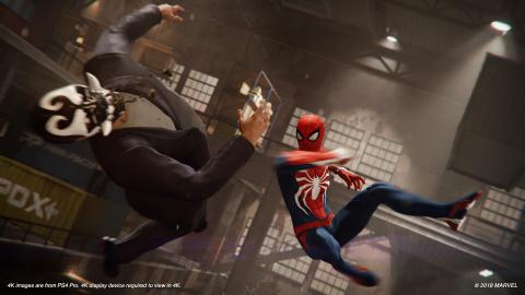 Spider-Man : quatre heures de jeu très enthousiasmantes
