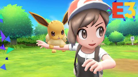 E3 : Pokémon Let's Go, Pikachu / Evoli : Une porte d'entrée vers la série principale sur Switch