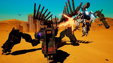 Daemon X Machina s'annonce par surprise et en vidéo sur PC