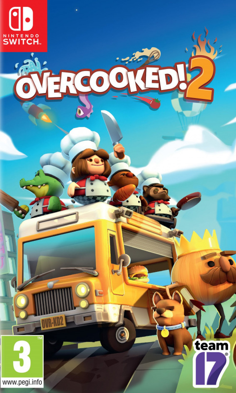 Overcooked 2 sur Switch