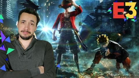 E3 : Jump Force, notre avis sur ce 3V3 dans l'univers de DBZ, One Piece, Naruto...