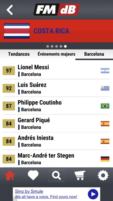 Football Manager lance Data Base, sa companion app