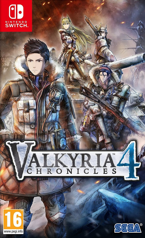 Valkyria Chronicles 4 sur Switch