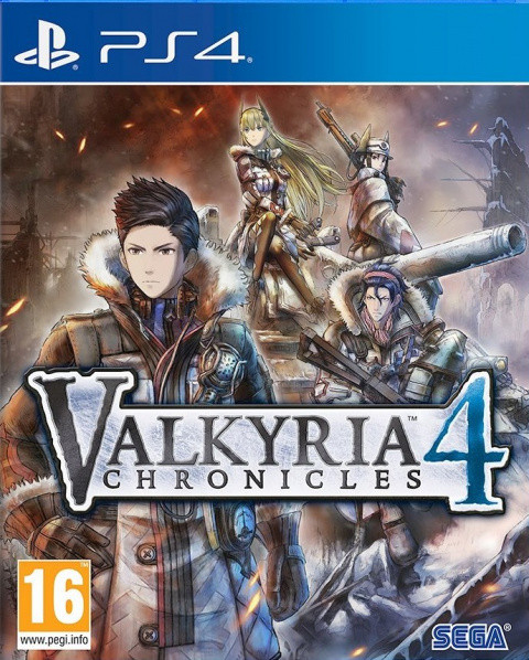 Valkyria Chronicles 4 sur PS4